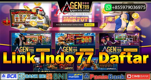Link Indo77 Daftar