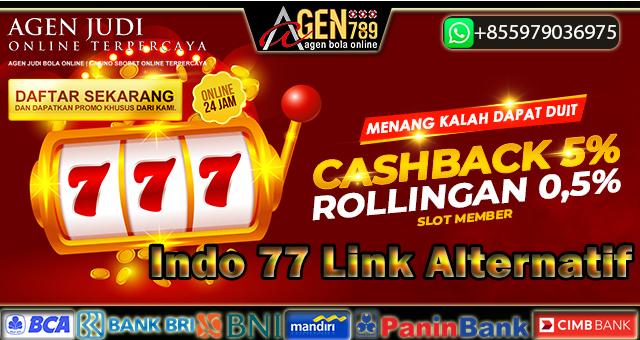Indo 77 Link Alternatif