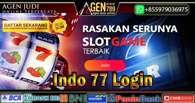 Indo 77 Login