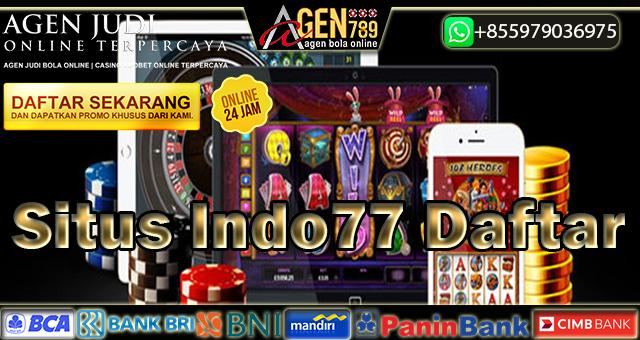 Situs Indo77 Daftar