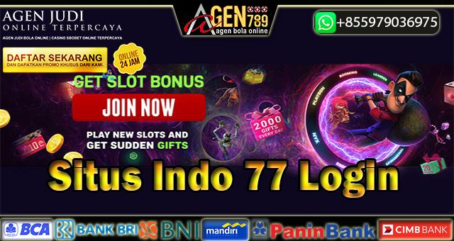 Situs Indo 77 Login